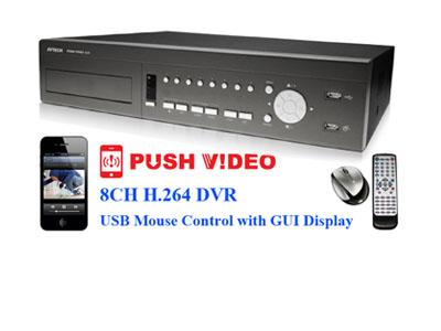 Paket 8 Channel dengan DVR Avtech 796