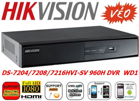 Paket 16 Channel Hikvision DS 7216 Turbo HD