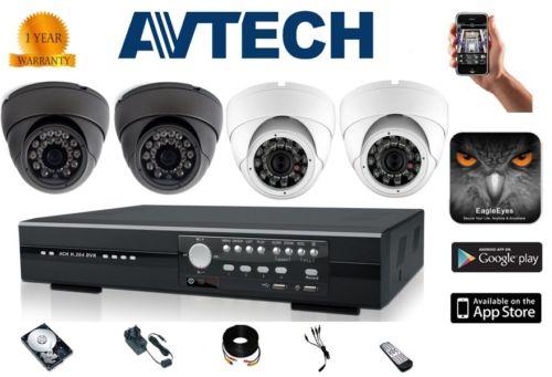 Paket AVTECH 4 Channel - Cikarang CCTV