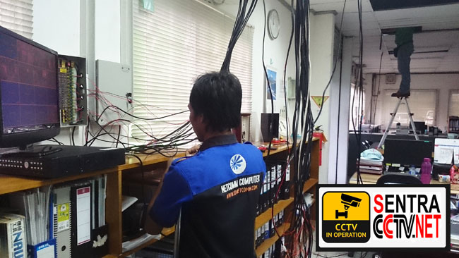 Project CCTV PT Yohzu Jababeka