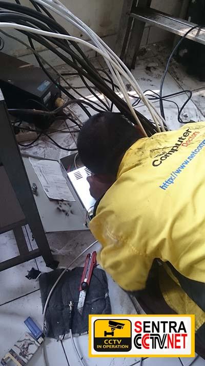 Setting CCTV Cikarang